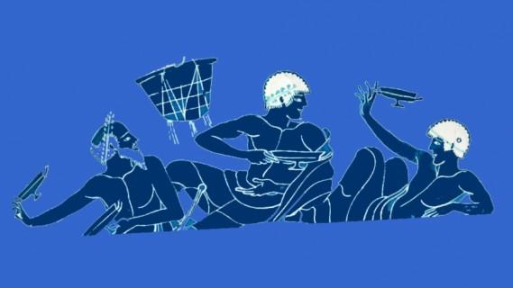 «θνητοί θεοί»: Μουσικό-θεατρική σύνθεση βασισμένη στην Παλατινή Ανθολογία (Απόδοση: Μίνως Βολανάκης)