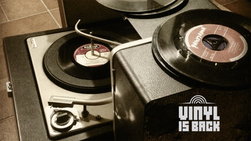 The «Vinyl is Back» goes to Salonica